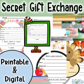 Secret Gift Exchange Questions