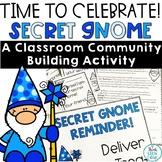 Secret Gnome Classroom Community Building