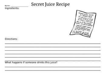 Secret Juice Recipe