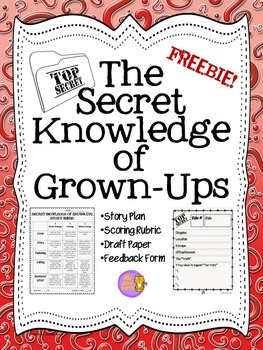 Secret Knowledge of Grown-Ups:  Twist Your Classroom Rules FREEBIE!