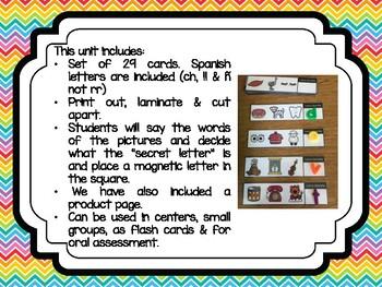 Secret Letter - A Magnetic Letter Center in Spanish
