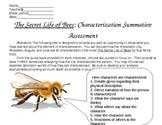 Secret Life of Bees Characterization Summative Assessment
