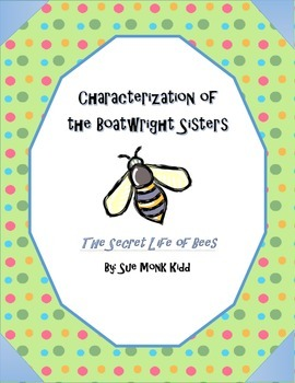Secret Life of Bees by Sue Monk Kidd - Characterization of