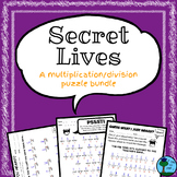 Secret Lives: Hidden Message Puzzle Bundle (Multiplication/Division)