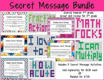 Secret Message Bundle