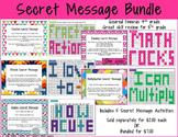 Secret Message Bundle 4.2D, 4.3D, 4.4D