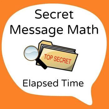 Secret Message Math - Elapsed Time