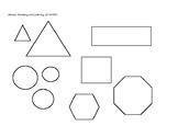 Secret Mission: 2D shapes official mission sheet and Key