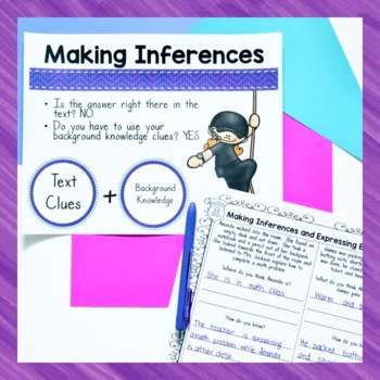 Secret Mission Making Inferences and Expressing Evidence