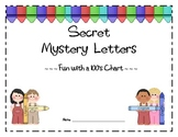 Secret Mystery Letters - Fun with a 100's chart