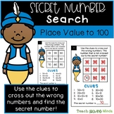 Secret Number Puzzles - Place Value to 100