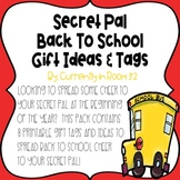 Secret Pal Gift Tags-Back to School