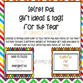 Secret Pal Gift Tags for the Year