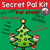 Secret Pal/Secret Santa Kit-Holiday edition