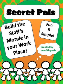 New Year Secret Pals Fun for Staff!