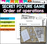 Secret Picture Tiles - Order of Operations