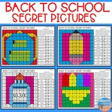 Secret Pictures for Articulation & Language: Back to School
