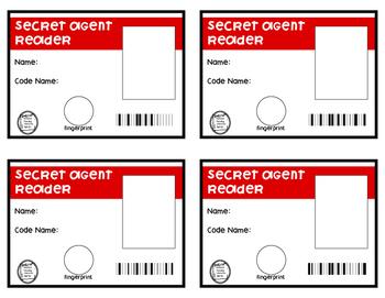 Secret Reader Agent Cards