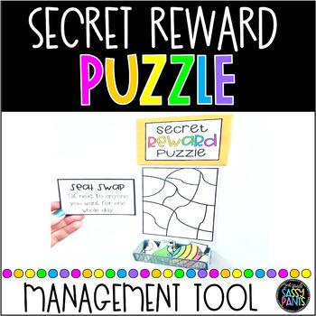 Secret Reward Puzzle-A Classroom Management Tool