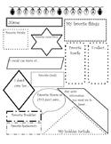 Secret Santa Profile Sheet