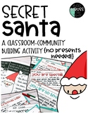 Secret Santa {A Classroom Community-Building Activity} Christmas Activities