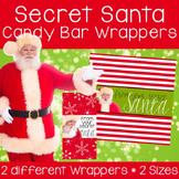 Secret Santa Candy Bar Wrappers
