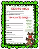 Secret Santa Form - Questionnaire in Color {Texas Twist Scribble}