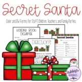 Secret Santa Forms (Staff, Family Parties, Children)