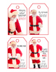 Secret Santa Gift Tags & Candy Bar Wrappers BUNDLE