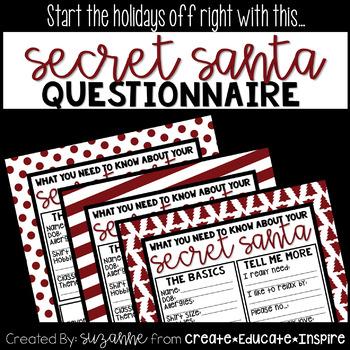 Secret Santa Interest Survey