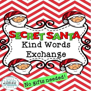 Secret Santa Kind Words Exchange