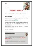 Secret Santa Letter