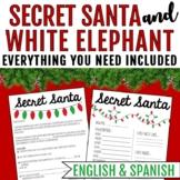 Secret Santa Questionaire and White Elephant forms
