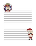 Secret Santa Lined Paper