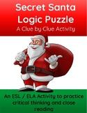 Secret Santa Logic Puzzle: A Clue by Clue Critical Thinking Game