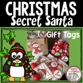Secret Santa Christmas Gift Tags