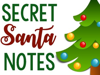 Secret Santa: Ready-Made Notes