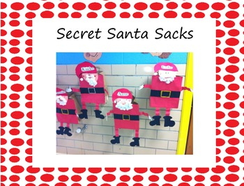 Secret Santa Sacks