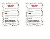 Secret Santa Student Questionnaire