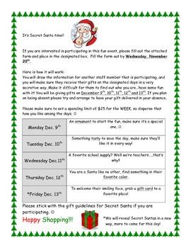 Secret Santa Time! 2013