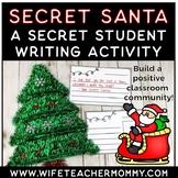 Secret Santa Writing Unit- Christmas Writing.