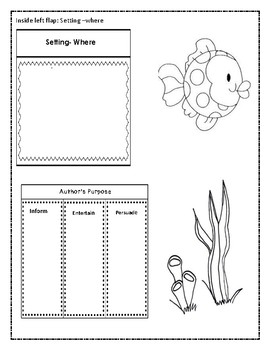 Secret Seahorse An Ocean Animal Interactive Notebook or Lapbook Unit
