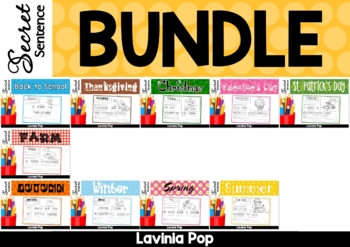 Secret Sentence BUNDLE