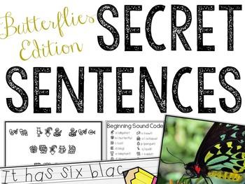 Secret Sentences: Butterflies