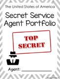 Secret Service Agent Application - Writing/Craftivity (President's Day)