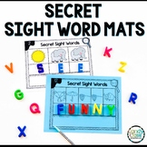 Secret Sight Word Activities: 1st Grade Word Work Mats for