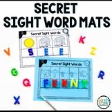 Secret Sight Word Activities: 1st Grade Word Work Mats for