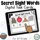 Secret Sight Word BOOM Cards™: Sight Word Spelling Practic
