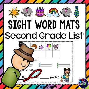 Sight Words Second Grade Secret Words