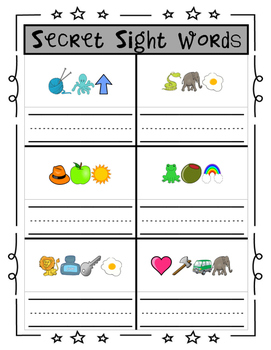 Secret Sight Words: Can You Break the Code? (K-1)